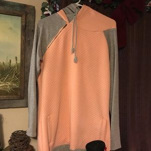 Mindy Mae's Peach Quilted Doublehood